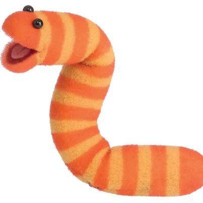 cute-orange-worm-29140147-1